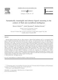 Semantically meaningful and abstract figural ... - Psychologie