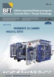 Edición española/Edição portuguesa Concrete ... - BFT International