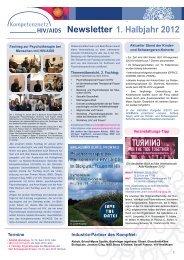 KompNet Newsletter 1. Halbjahr 2012 - Kompetenznetz HIV/AIDS