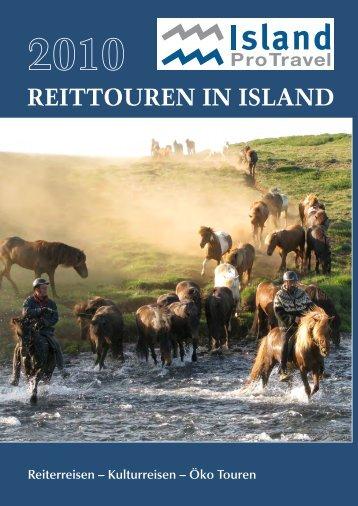 Mehrtägige Reittouren - Island