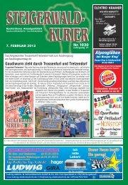 Ausgabe 1030 - Steigerwald-Kurier