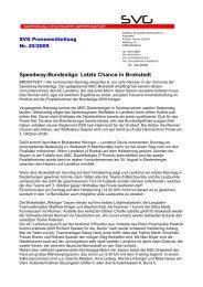 Speedway-Bundesliga: Letzte Chance in Brokstedt - Bahnsport Bilder