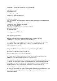 Protokoll der 6. ordentlichen Sitzung 11/12 - StuPa der BU Wuppertal