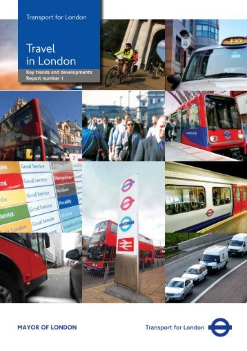 Travel in London Report 1 - Transport for London