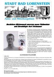 Amtsblatt 05 / 2007 - Bad Lobenstein