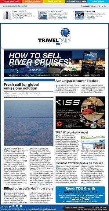 Travel Daily UK - Travel Daily Media