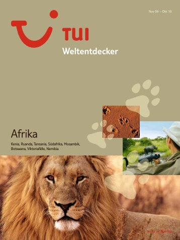 TUI - Weltentdecker: Afrika - Sommer 2010 - TUI.at