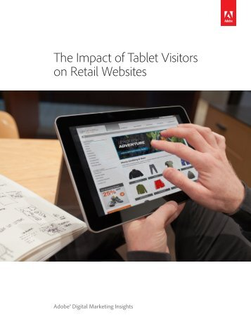 The Impact of Tablet Visitors on Retail Websites