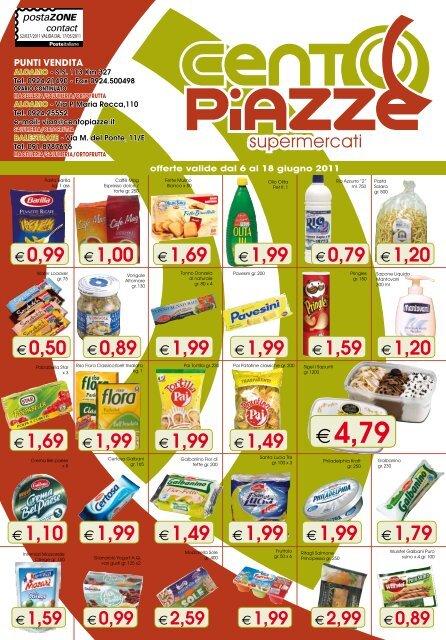 €4,79 - Supermercati Cento Piazze