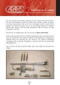 Onderhoud van koperen en houten blaasinstrumenten - Page 5