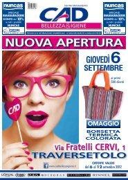 Via Fratelli CERVI, 1 Via Fratelli CERVI, 1 - CAD Bellezza & Igiene