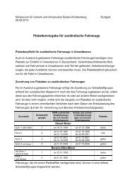 Abteilung 4 - Ministerium für Verkehr und Infrastruktur - Baden ...
