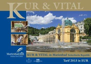 KUR & VITAL in Marienbad Tschechische Republik - Léčebné lázně ...