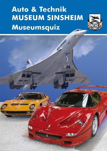 Auto & Technik MUSEUM SINSHEIM Museumsquiz