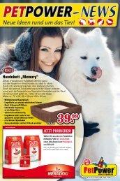 Pet Power Handzettel - BTG