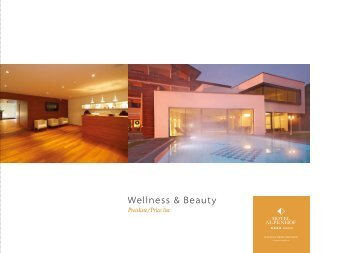 Beauty & Spa Folder vom Wellnesshotel downloaden - Hotel Alpenhof