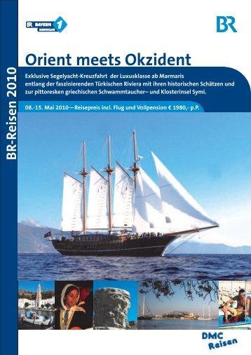 Orient meets Okzident - DMC-Reisen