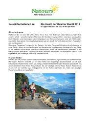 Die Inseln der Kvarner Bucht 2013