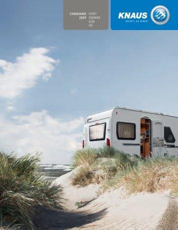 caravans 2009 sport südwind azur yat - Camping-Center Klein GmbH