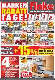 +15% - Finke