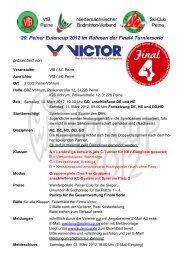 VfB Peine Niedersächsischer Badminton-Verband Ski-Club Peine ...