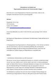 Lageplan und Anfahrt - FernUniversität in Hagen