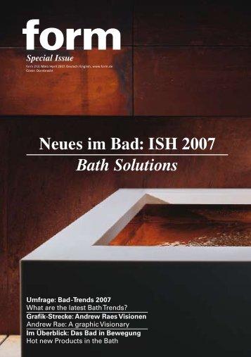 [pdf - 2.18 MB] Sonderheft zur ISH - Form