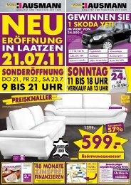 Abholpreise - Möbel Hausmann
