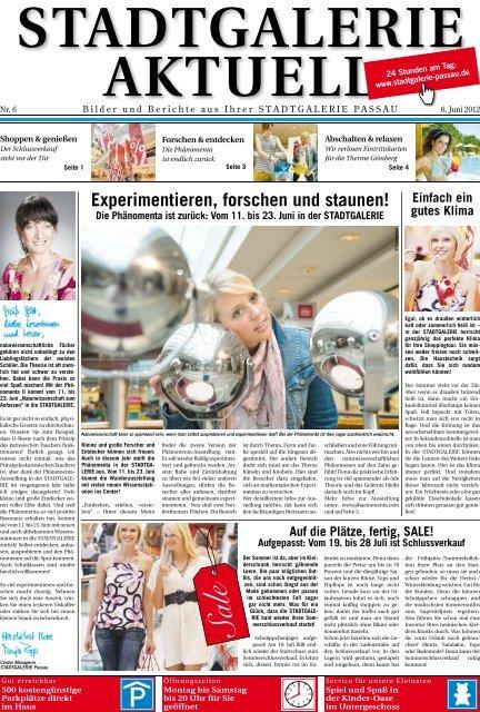 Experimentieren, forschen und staunen! - Stadtgalerie Passau
