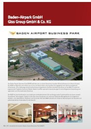 Baden-Airpark GmbH Giss Group GmbH & Co. KG