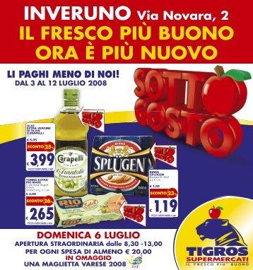 promozione - Tigros