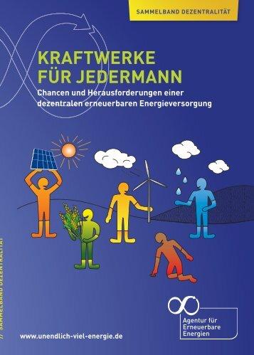 kraftwerke für jedermann - Agentur für Erneuerbare Energien