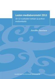 Lasten mediabarometri 2012