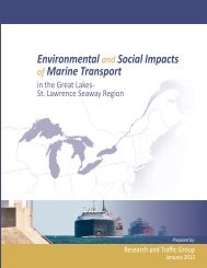 Environmental Social Impacts Marine Transport
