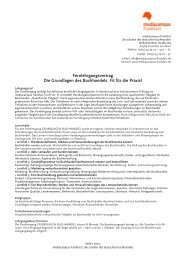 finden sie den Link zu Prospekt und - mediacampus frankfurt