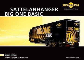 SATTELANHÄNGER BIG ONE BASIC