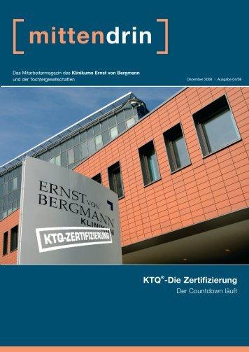 mittendrin KTQ®-Die Zertifizierung - Ernst von Bergmann
