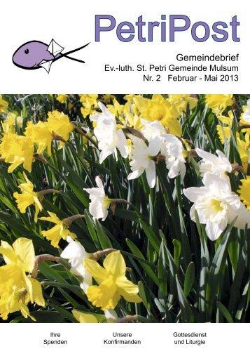 als PDF herunterladen - St. Petri Kirchengemeinde Mulsum