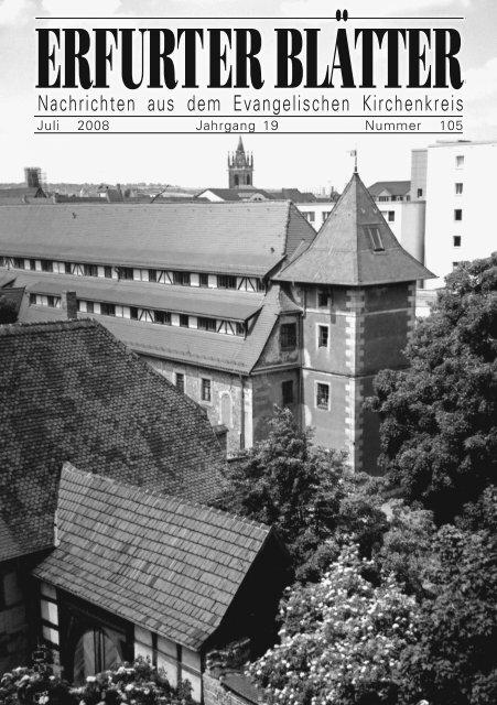 07/09 - Evangelische Kirchen in Erfurt