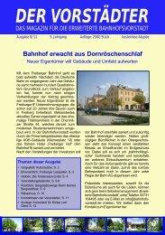 Ausgabe August 2011 - Der Vorstädter