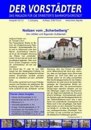 Ausgabe Februar 2013 - Der Vorstädter
