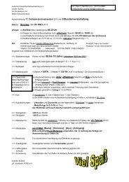 Ausschreibung 17. Frühjahrskrümelrandori 2013 als 3 ...