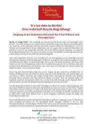 Kate & William zu Besuch in Berlin! - Madame Tussauds
