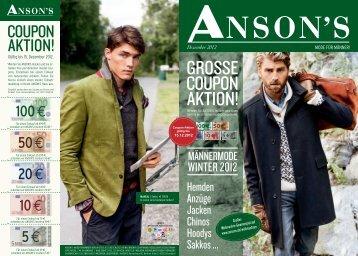 Ab €39,95 - Anson's