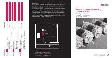 K-Lumet – Anzünder für Cheminée, Grill und Feuerstelle - GGZ@Work
