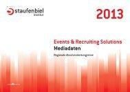 Regio-Kongresse 2013 (PDF) - Staufenbiel.de
