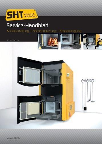 Service-Handblatt downloaden - sht