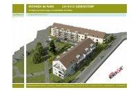 WOHNEN IM PARK CH-5412 GEBENSTORF