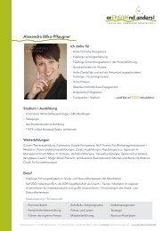 Trainerprofil Alexandra Bilko-Pflaugner - Coaching Seminare ...