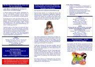 Fortbildungsprogramm für Erzieherinnen und Erzieher